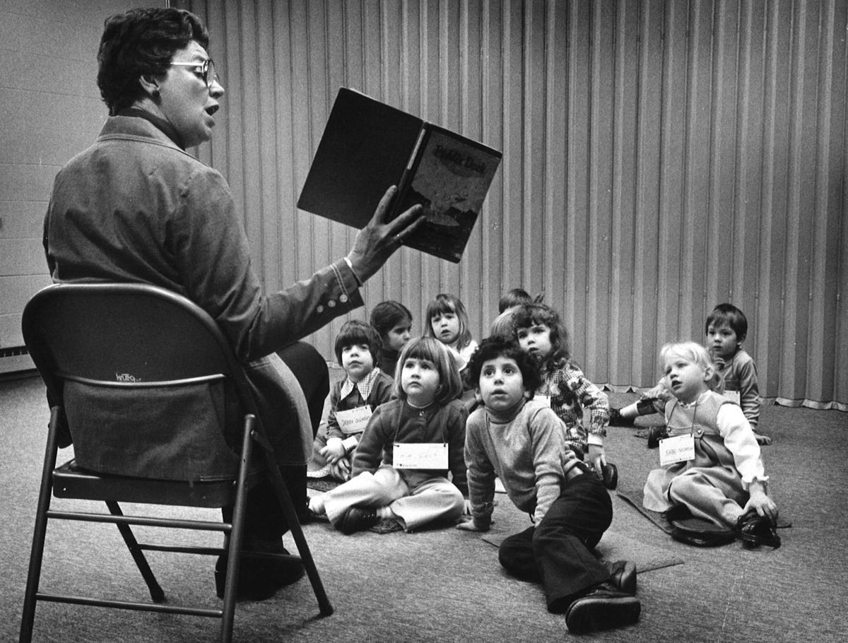Reading to children in 1978