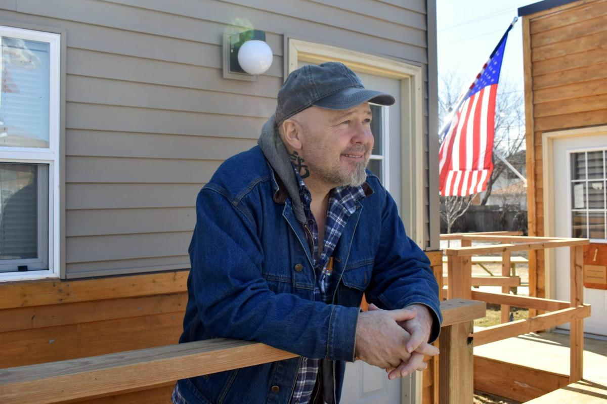 Living at the veteran village