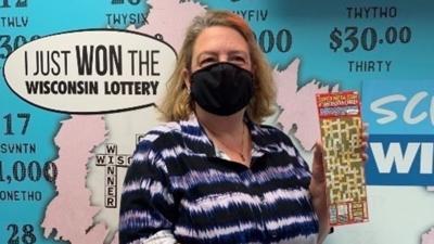 Bobbi Mangan lottery winner