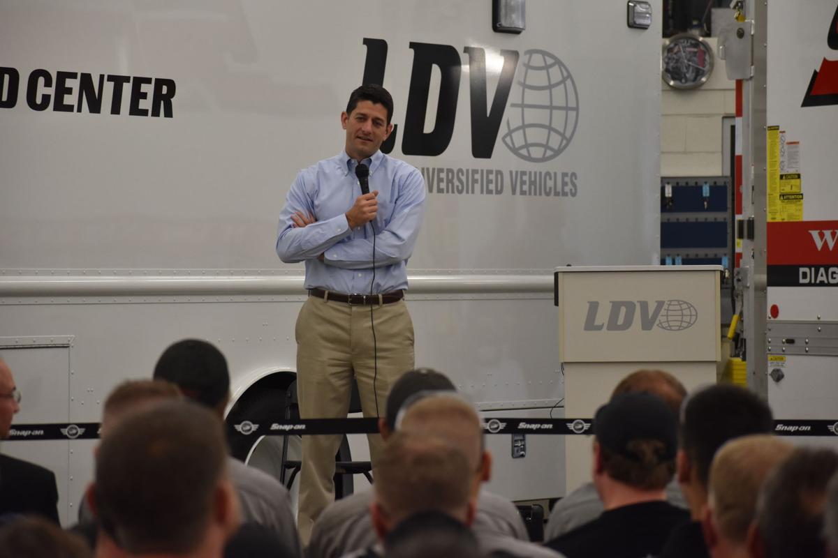 Paul Ryan at LDV Inc.