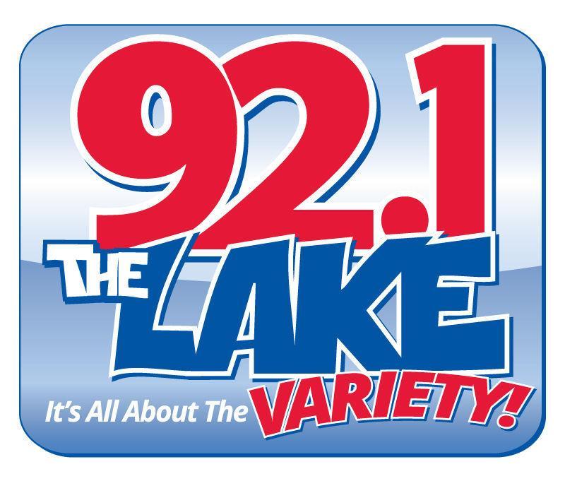 92.1 the Lake logo