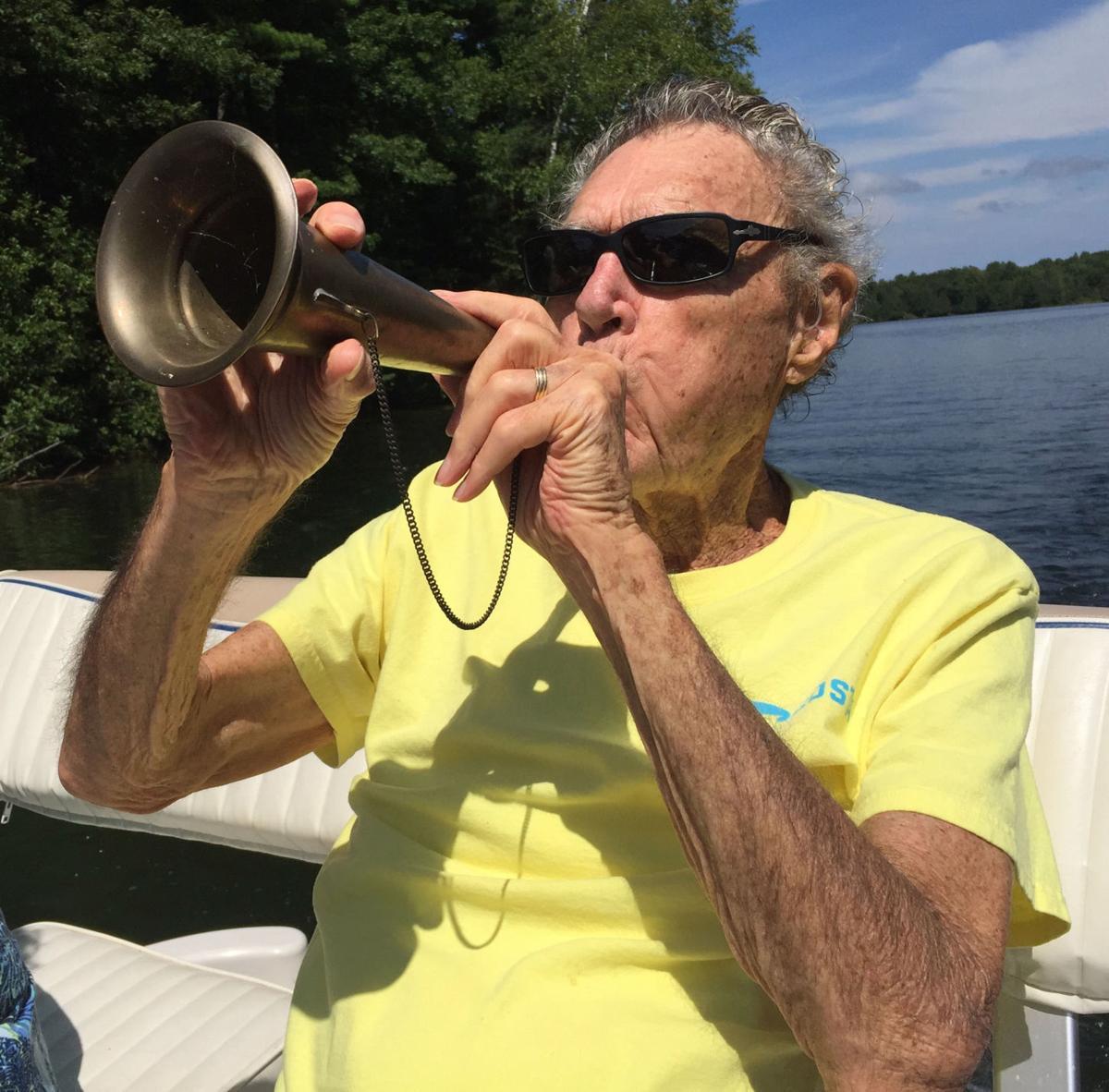 Bill Boyd with horn