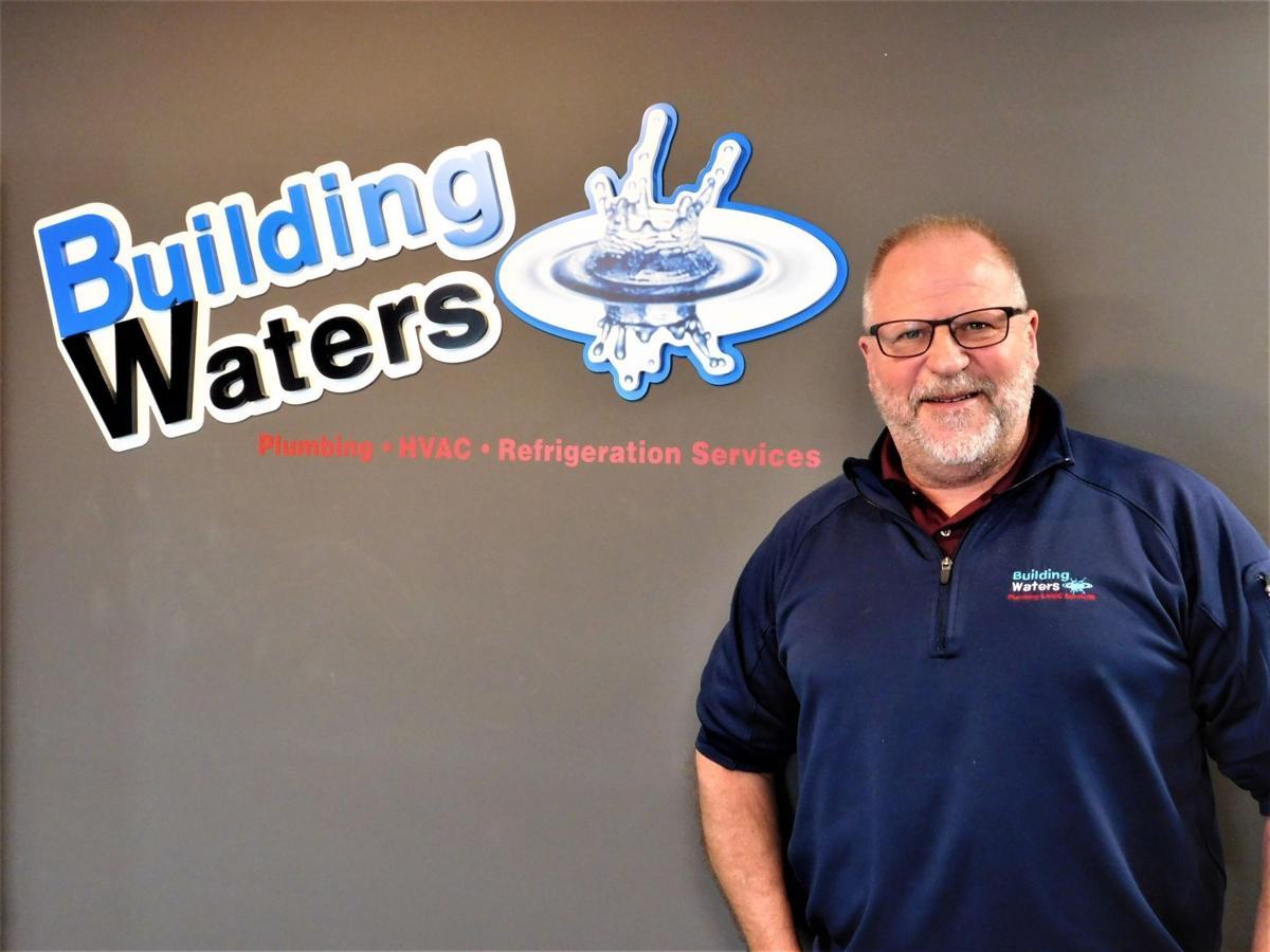 Wesley Rosenberg, owner, Building Waters, Inc., 2101 Lathrop Ave., Racine