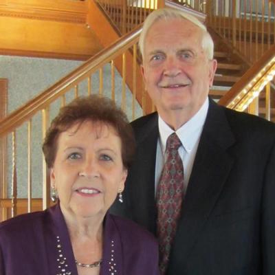 Mr. and Mrs. Milton Schulz