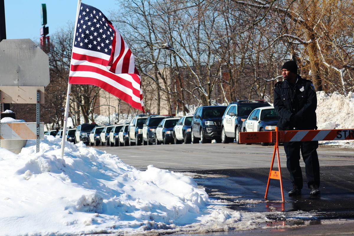 Officer Matthew Rittner funeral