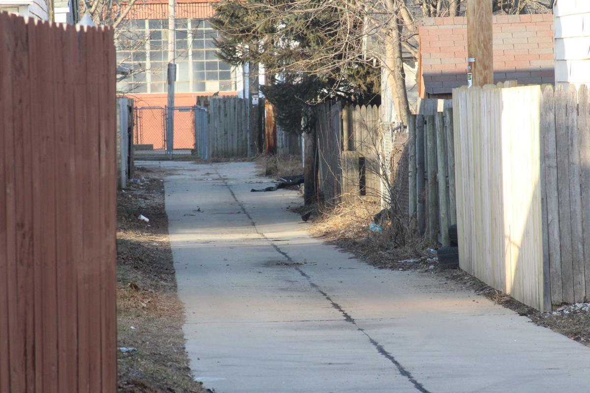 Hickory Grove alley