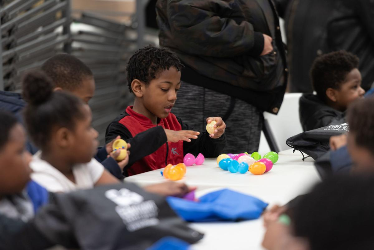MLK Center Easter Egg Hunt