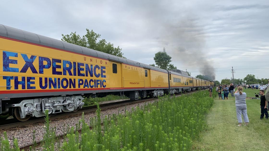 With video: Big Boy steams through Racine County