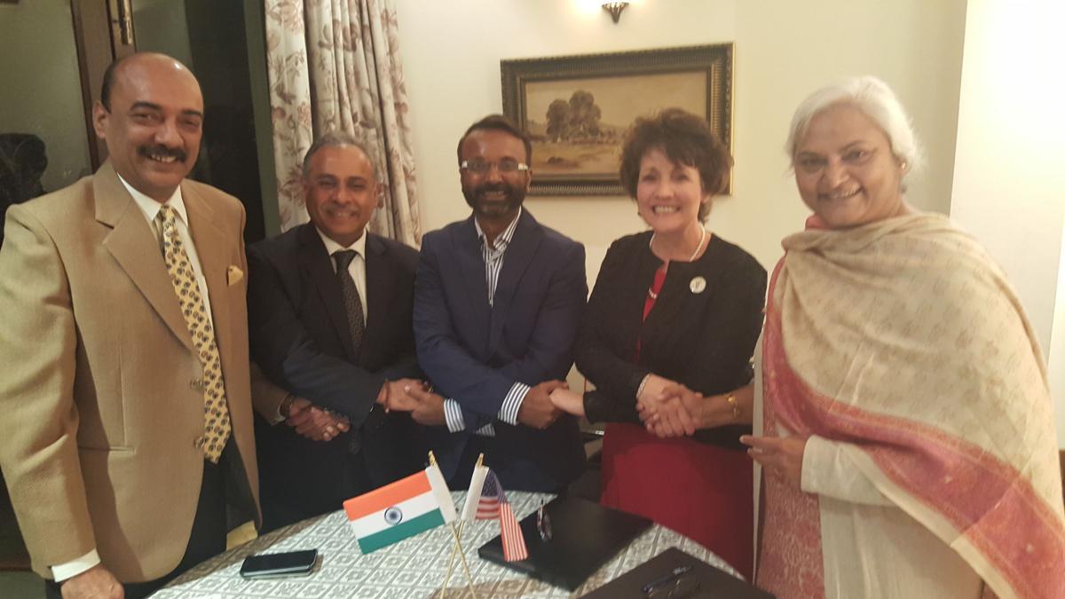 UW-Parkside Chancellor Debbie Ford visits India