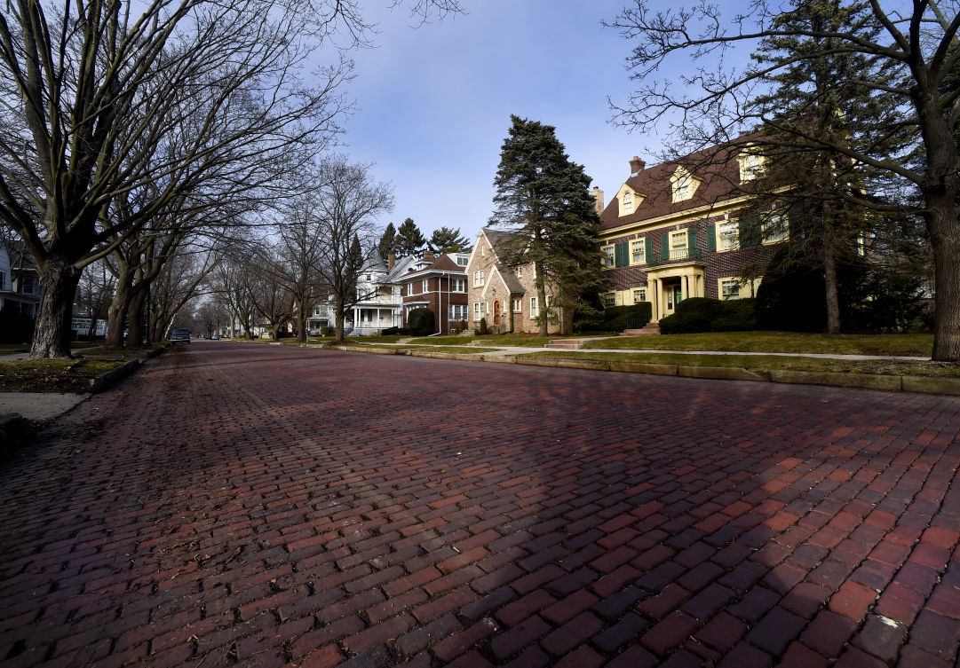 College Avenue Bricks