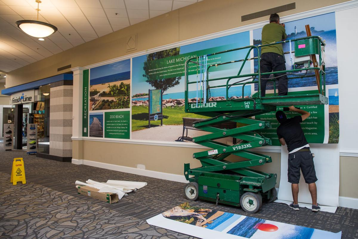 Remaking Regency Mall Interior Upgrades Being Completed