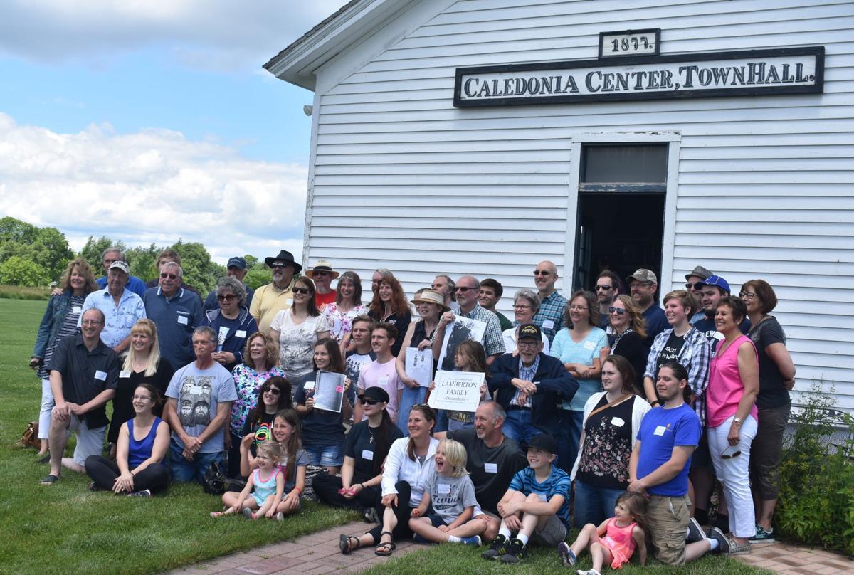 Celebrating Their Ancestry Lamberton Clan Reassembles