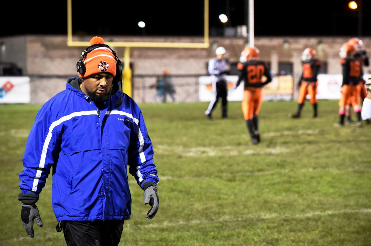 Coach Danny Hernandez on the sidelines