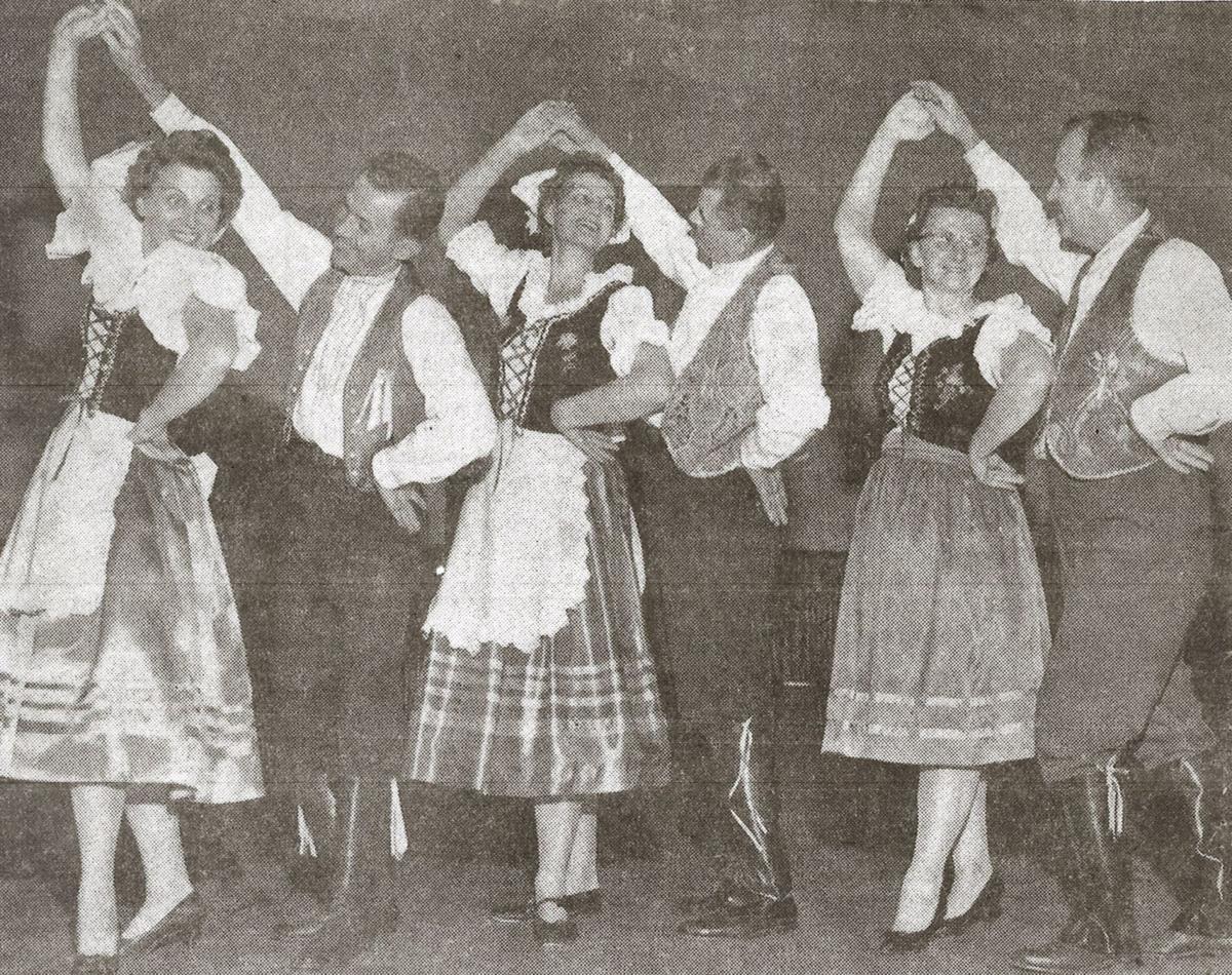 Sokol Mladocech marks 70th year newspaper photo
