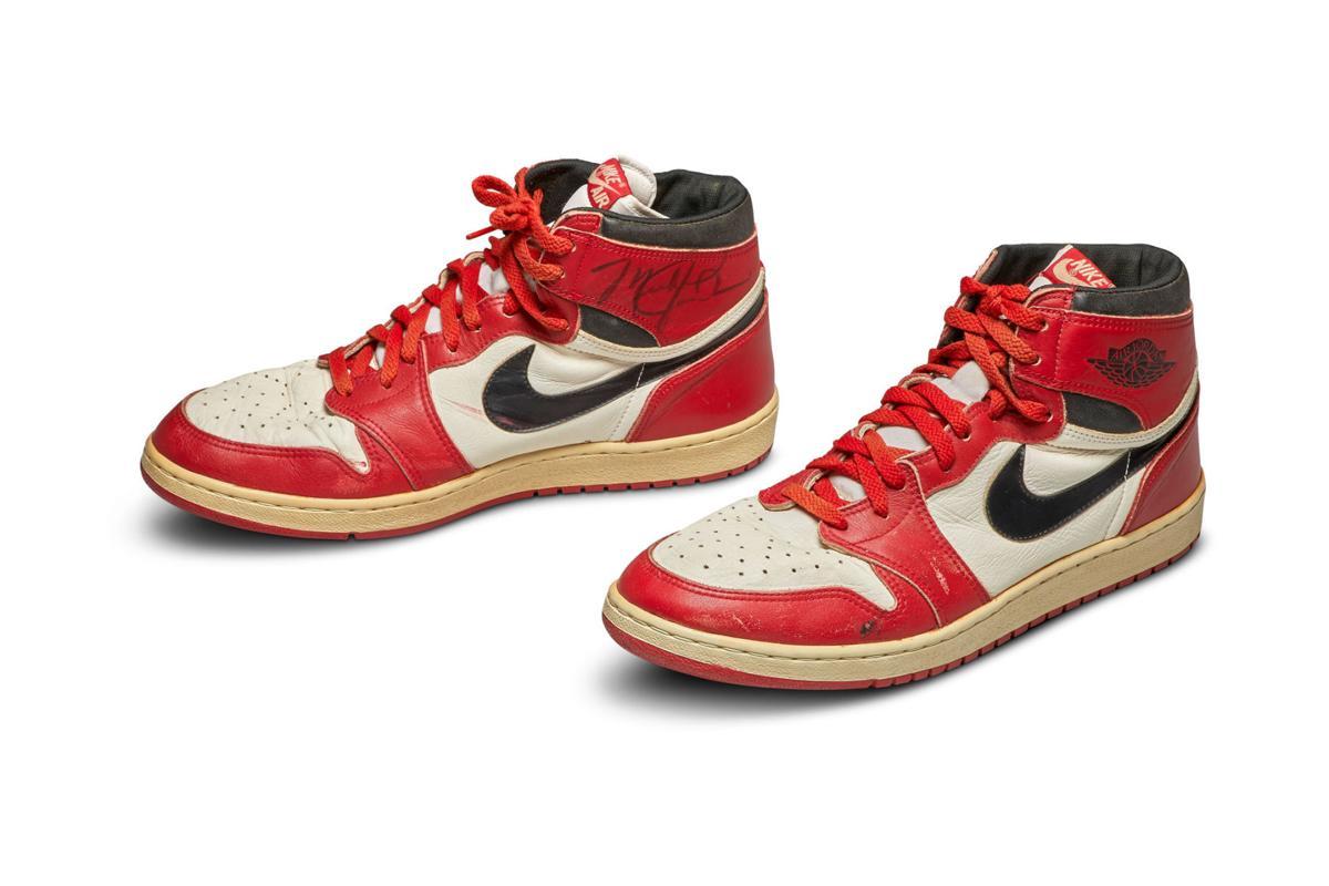 Michael Jordan's shoes