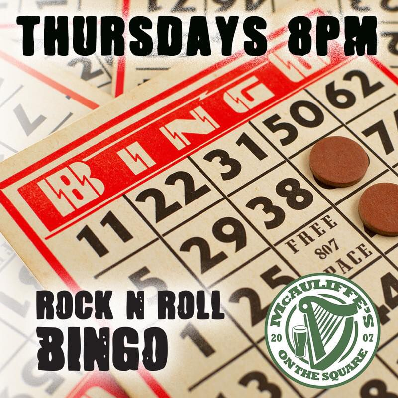 Rock & Roll Bingo