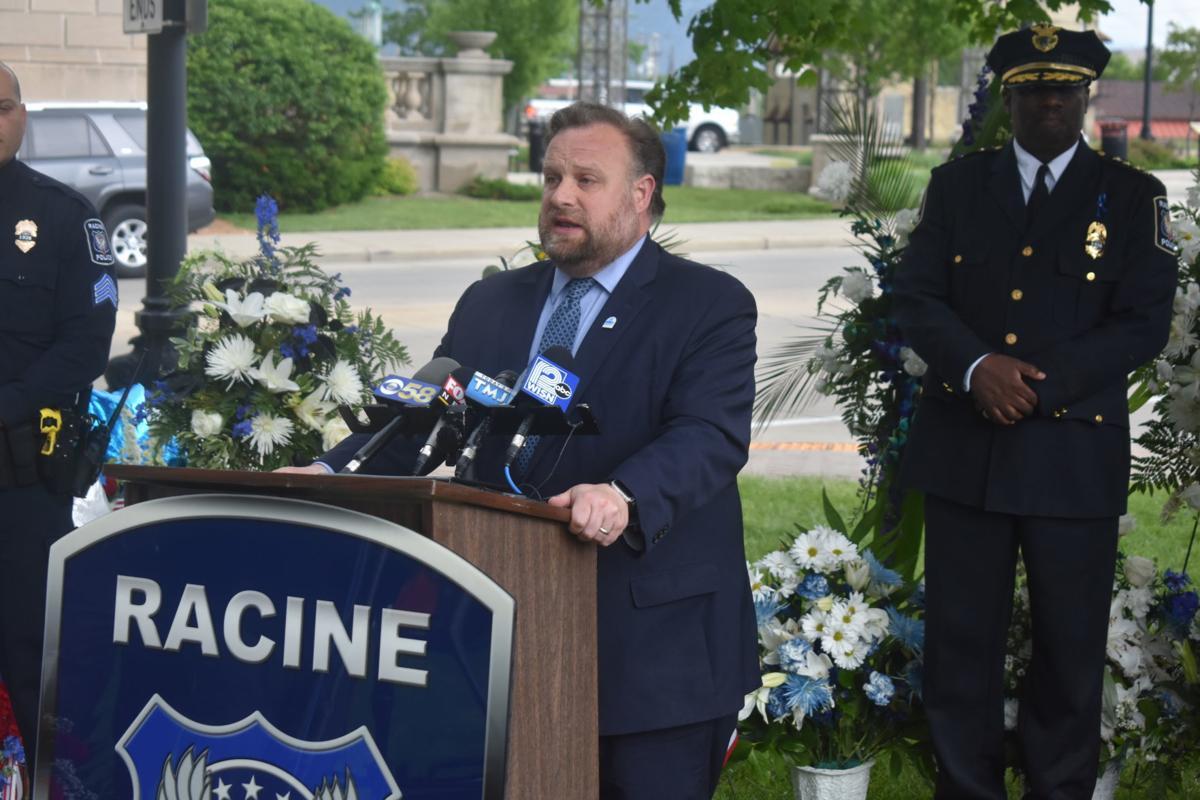 Mayor Mason at press conference