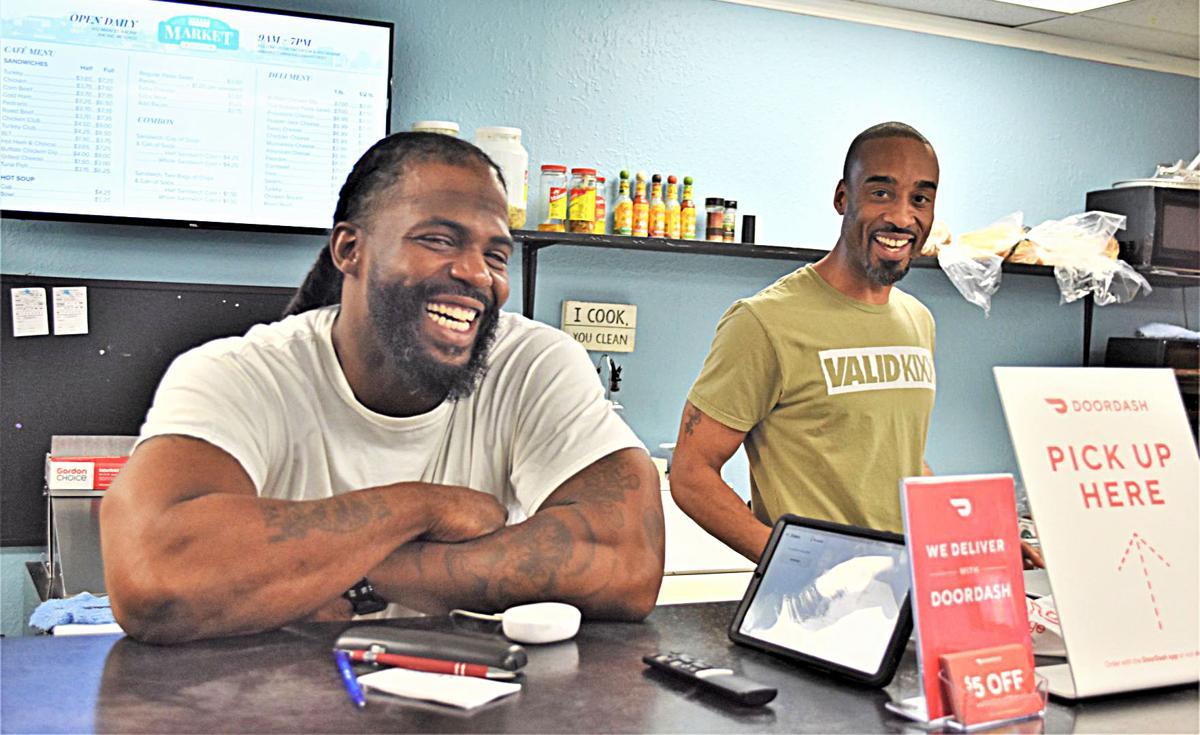 Darius Nunn and Tywon Davidson