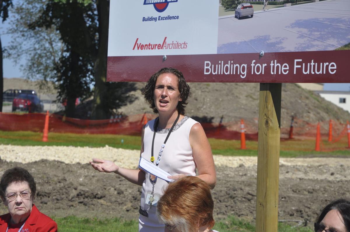 County health director Elizabeth Aldred