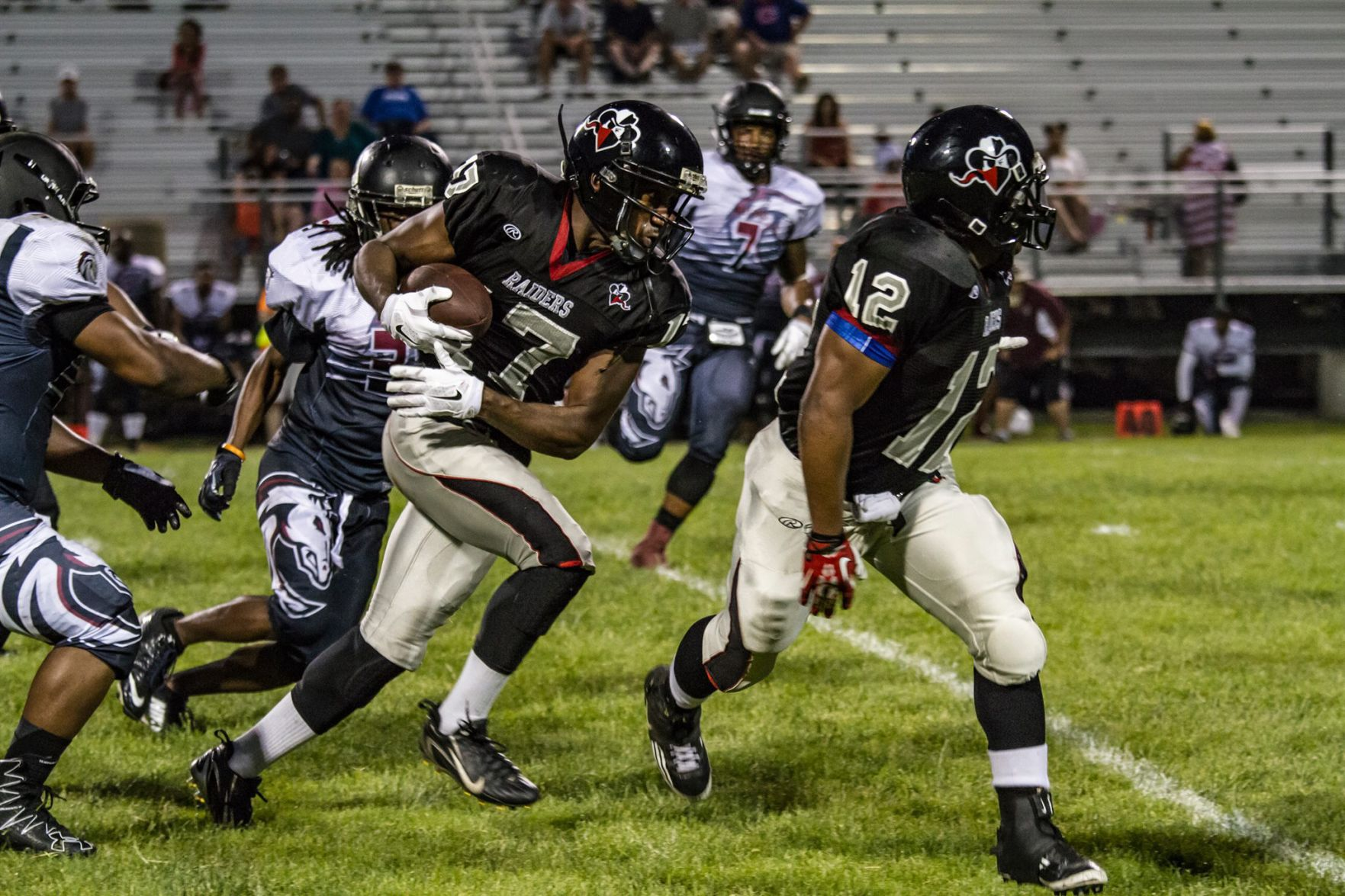 Terrence Fitch photo Racine Raiders Season still