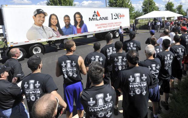 Governor spotlights McLane Foodservice expansion