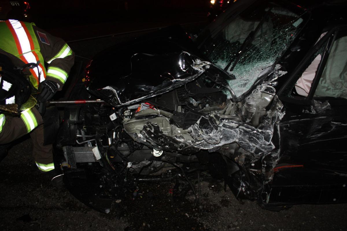 Caledonia crash