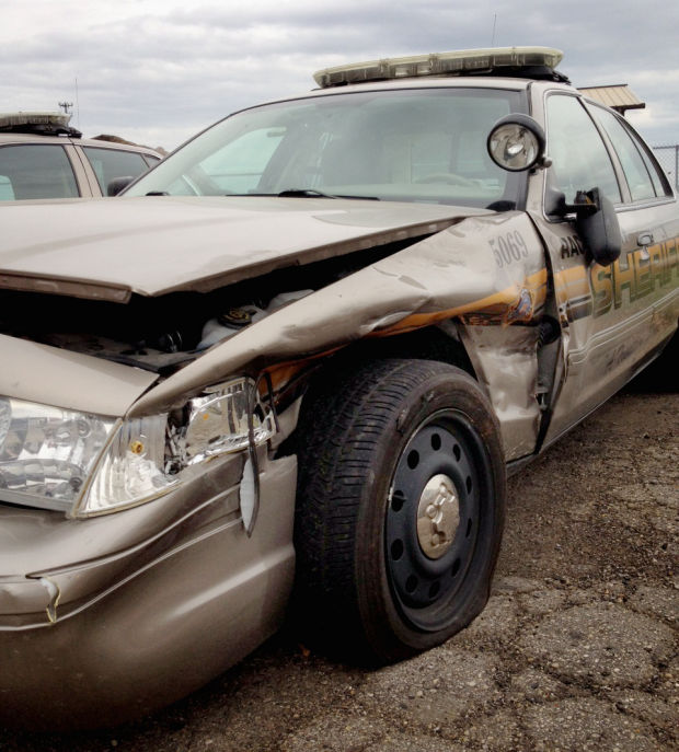Deputy's squad car damaged by drunken driver