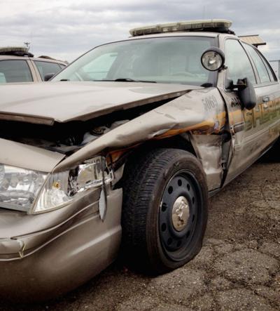 Deputy's squad car damaged by drunken driver