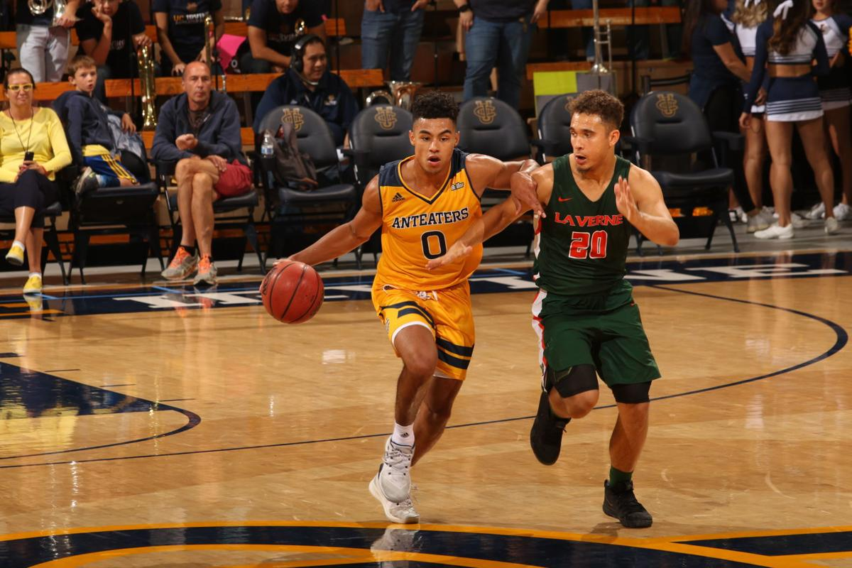 JC Butler at UC-Irvine action