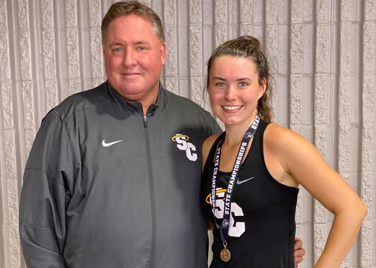 Kate Smith with state medal