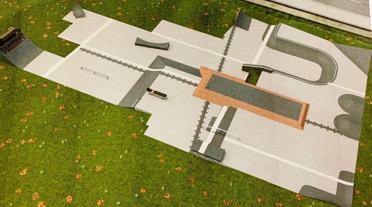 Sturtevant skate park design