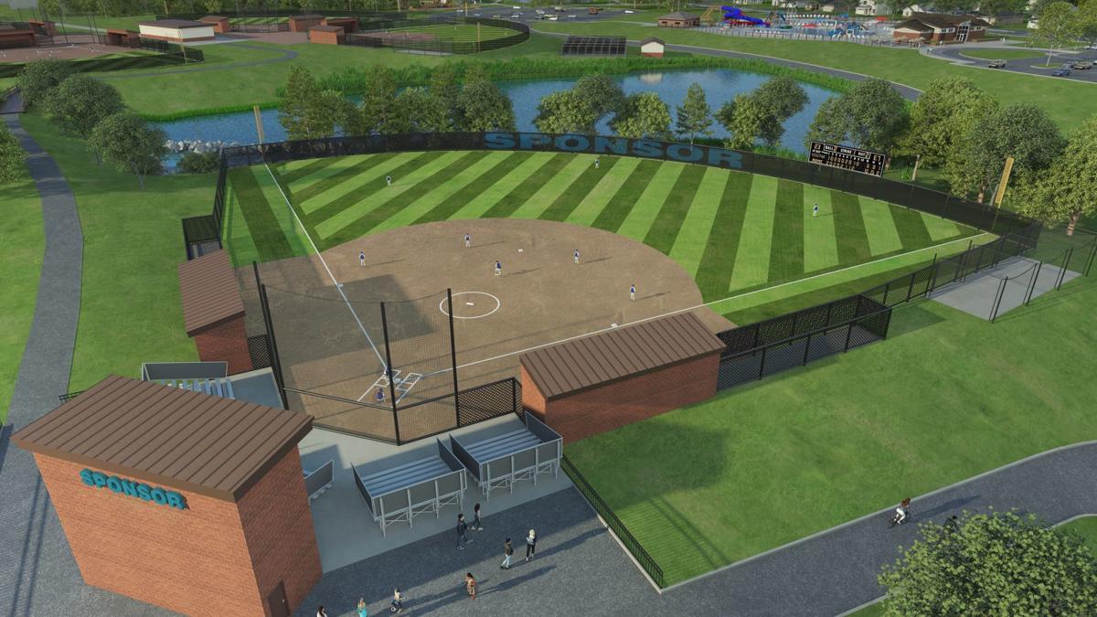 Racine community sports complex rendering
