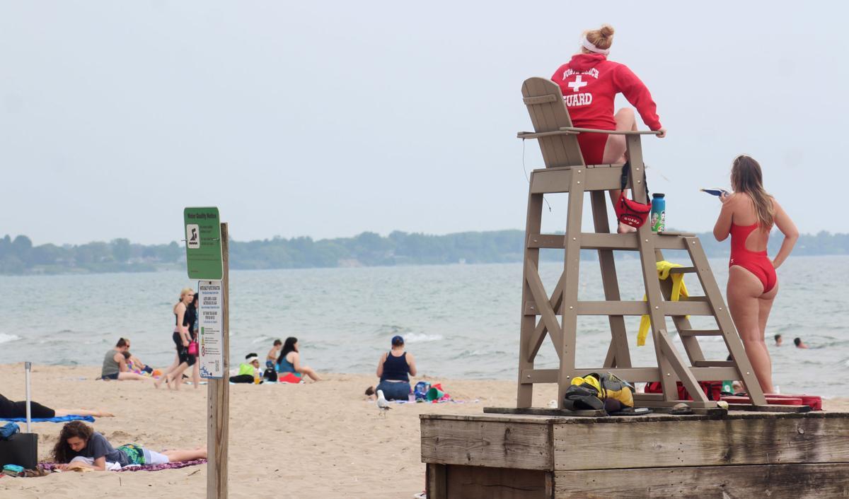 North Beach lifeguards