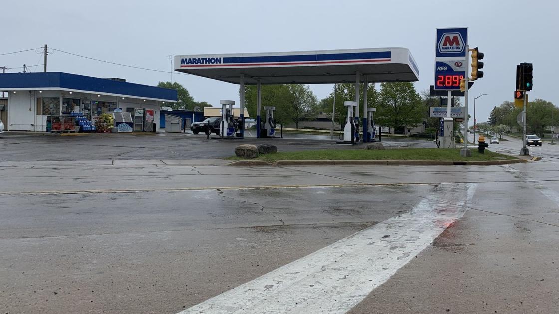 Marathon gas station shooting victim identified