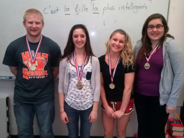 Gold medalists from Park High School