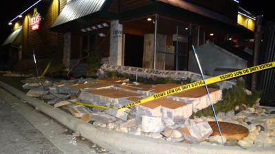 Wall collapses at Texas Roadhouse