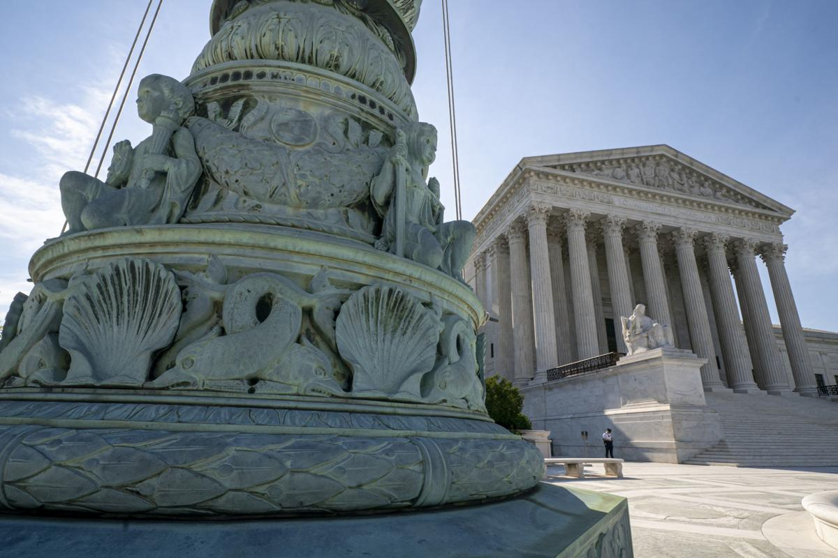 Supreme Court in sun, AP generic file photo