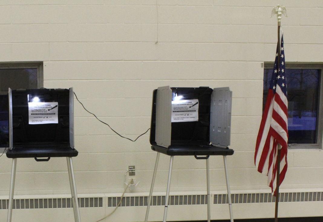 St. Mesrob empty voting booths