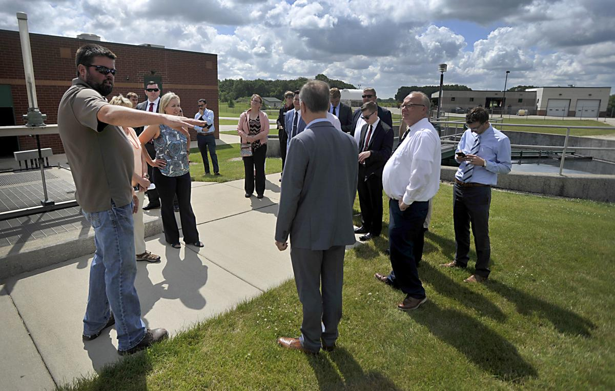 Assembly's water task force visits area