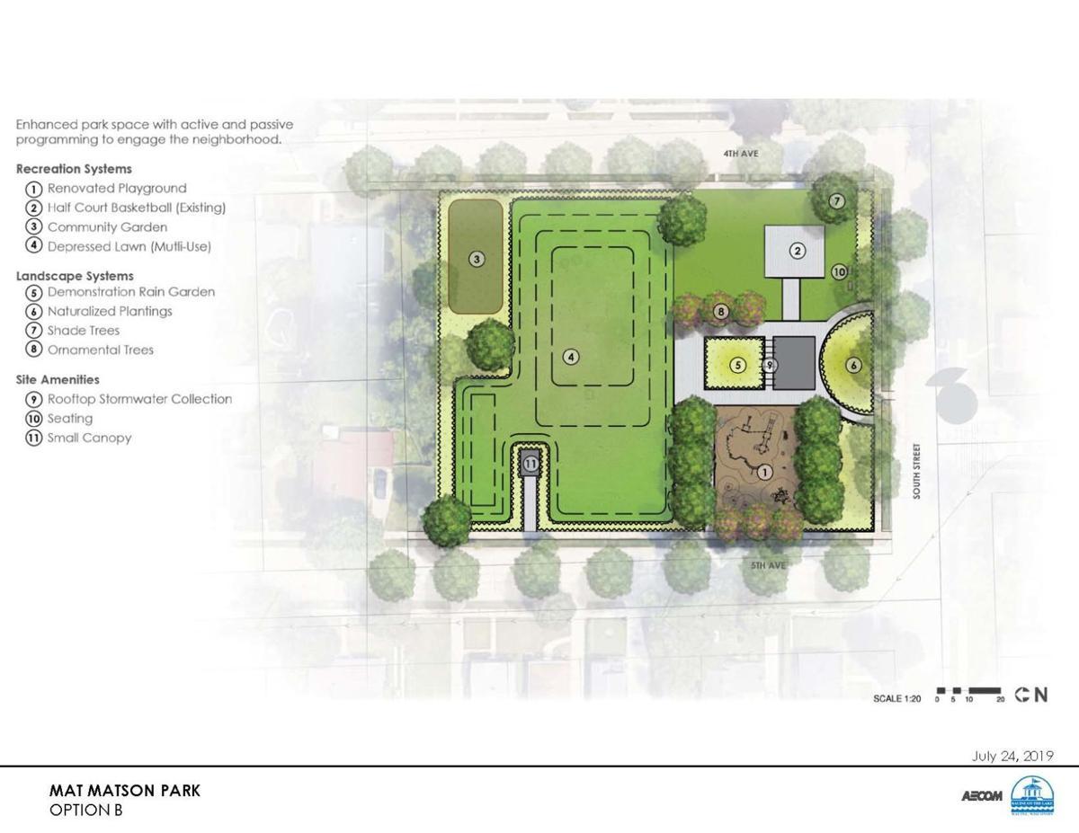 Mat Matson Park Option B