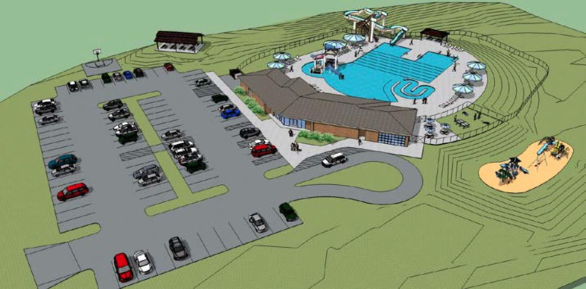 Burlington Pool Rendering