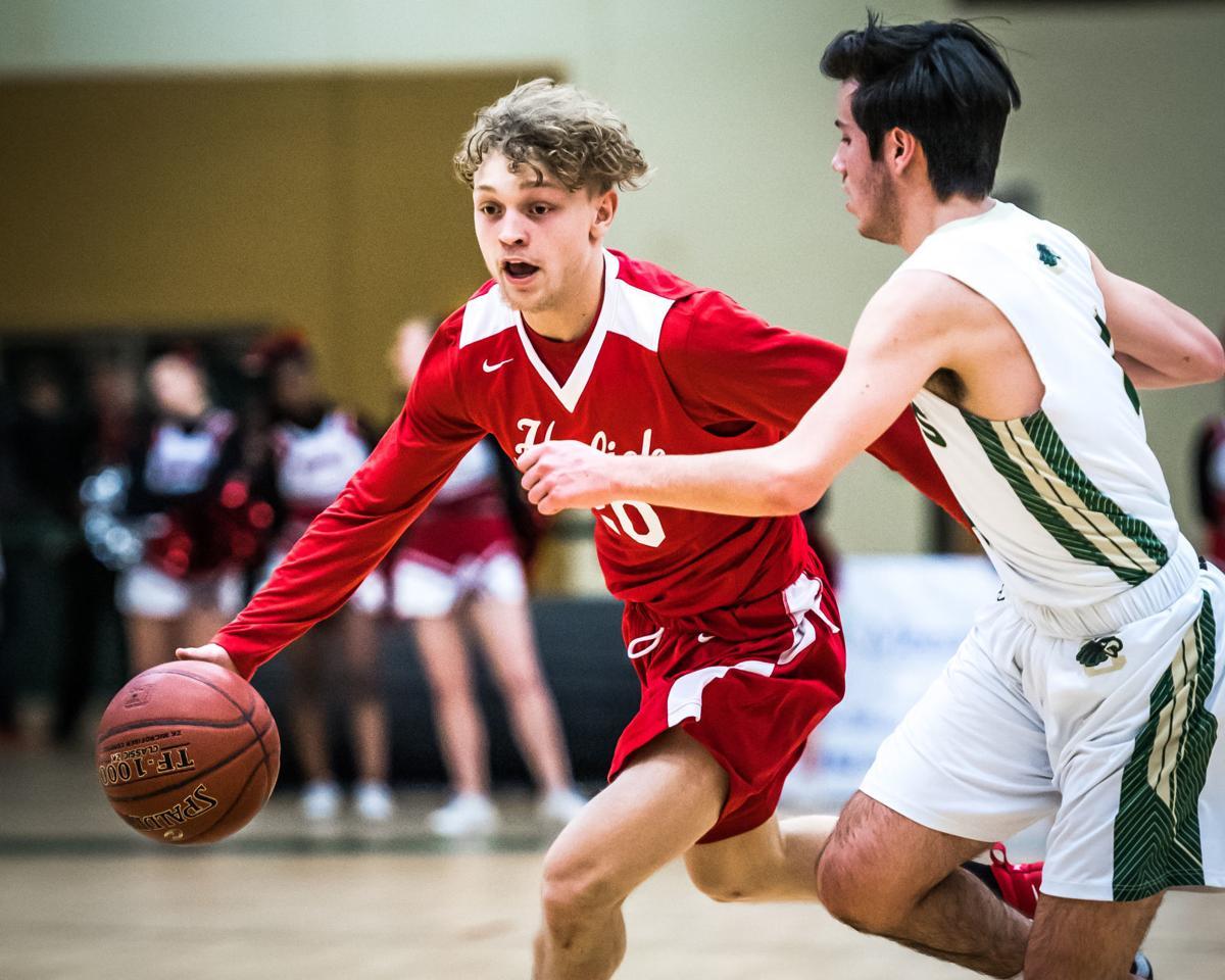 Horlick boys basketball