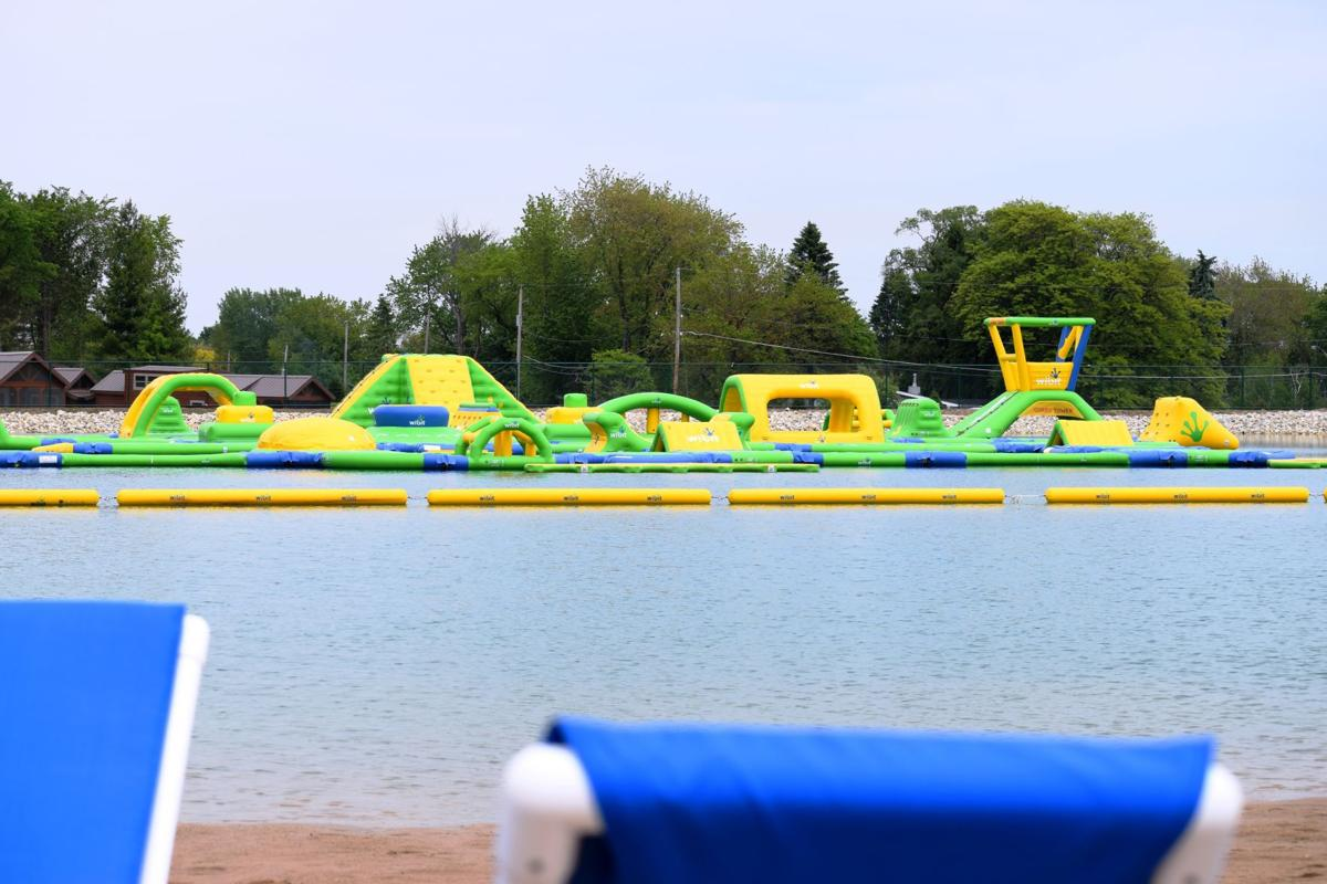 Jellystone's beach, aquatic obstacle course expansion set to