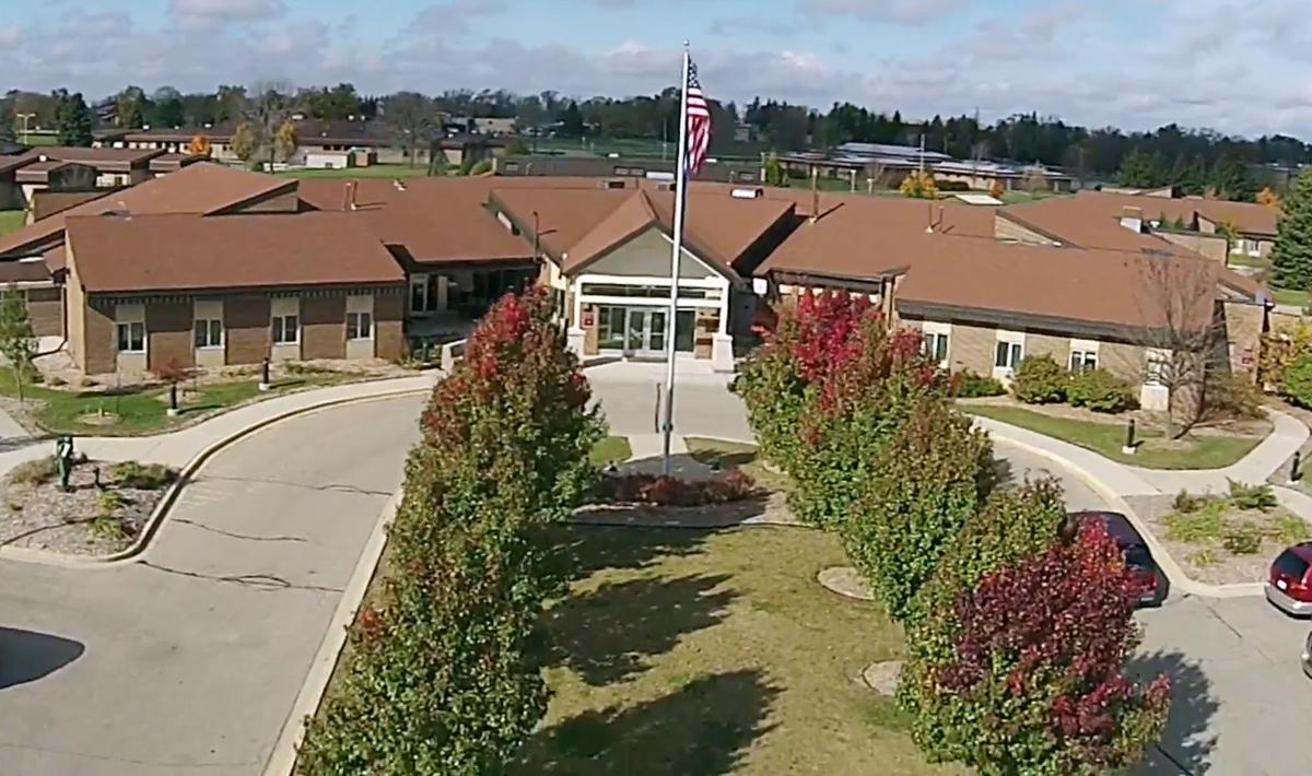 Veterans Home at Union Grove stock image