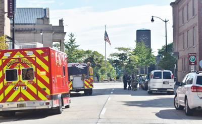 Pedestrians hit in Downtown Racine, two taken to hospital