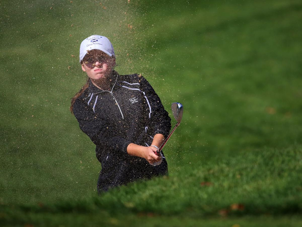 Kate Munro, WIAA state golf