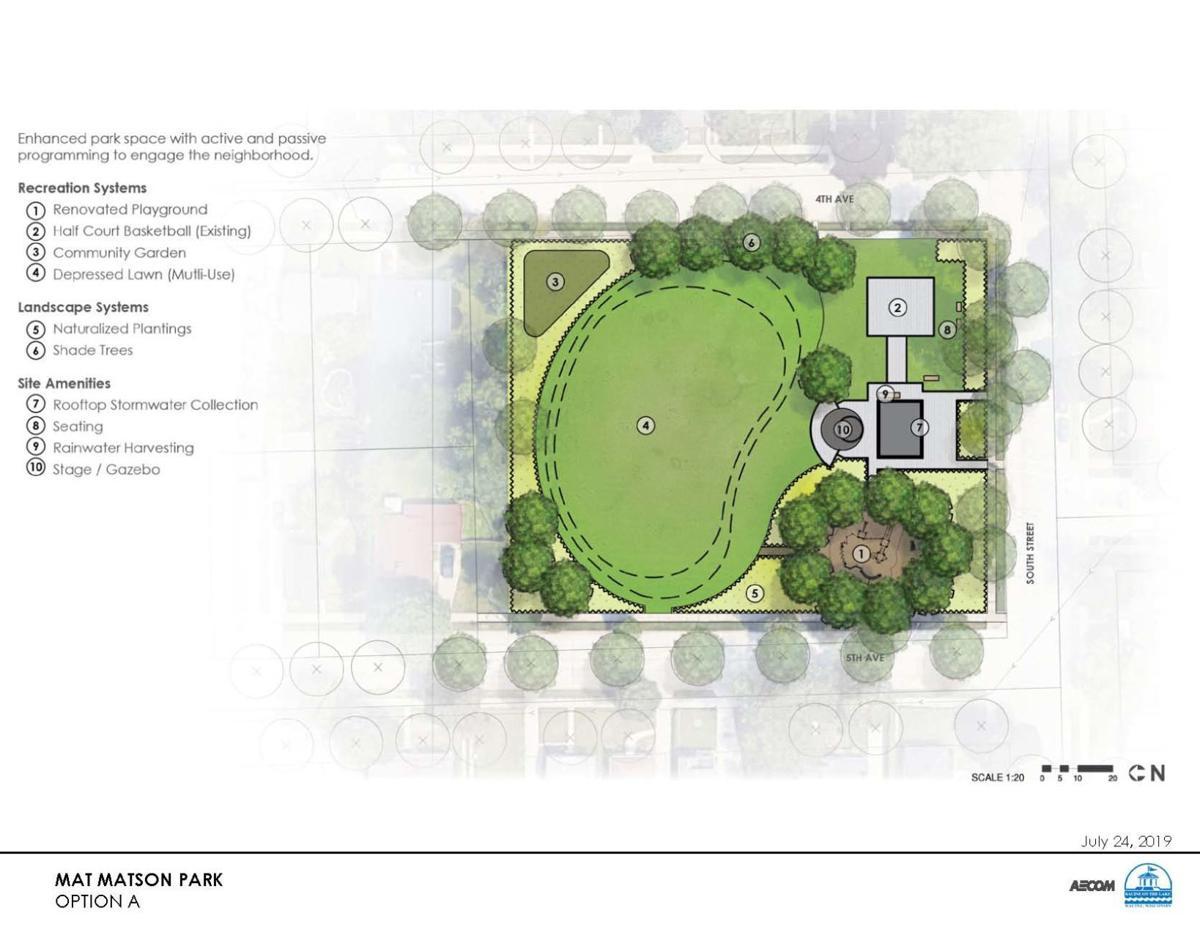 Mat Matson Park Option A