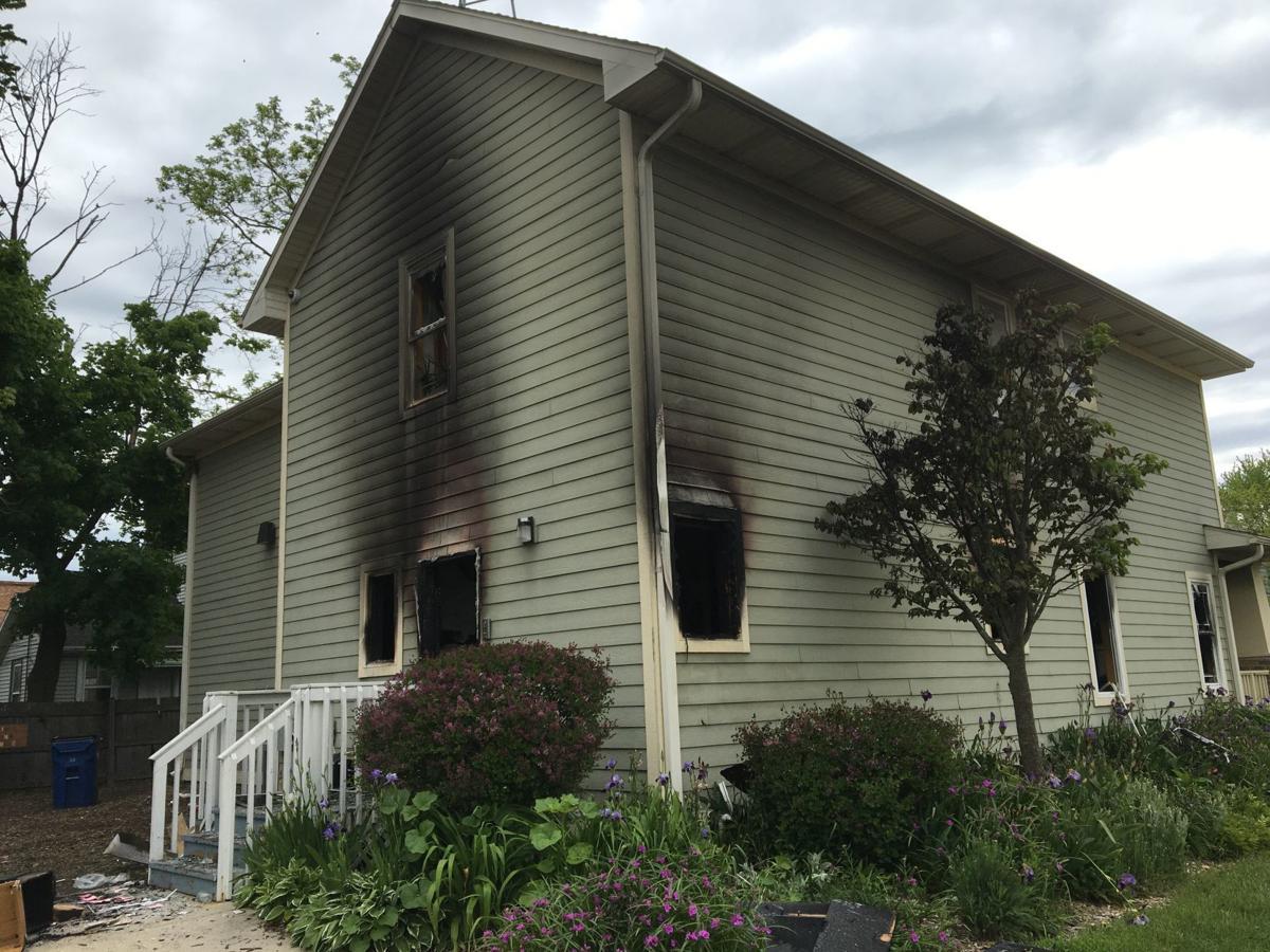 Villa Street COP house ablaze overnight