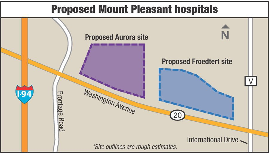 Froedtert Campus Map.Froedtert South Announces Expansion Plans Into Mount Pleasant