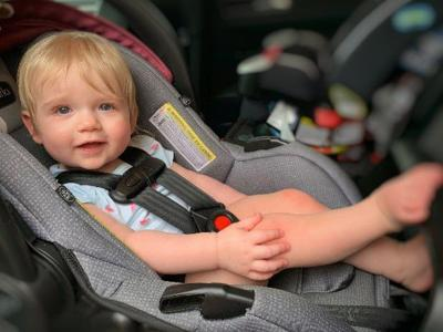 Is your child properly secured in the car?